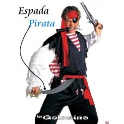 Espada pirata curva 46 cm.