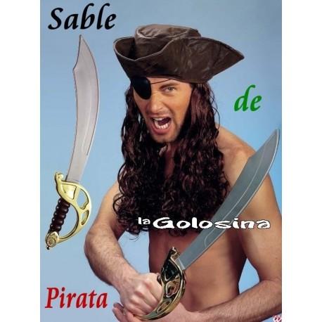 Espada de pirata 56 cm.