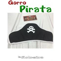 Gorro Pirata de tela.