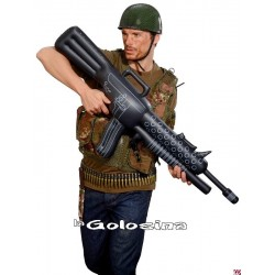 Ametralladora metralleta hinchable 112 cm