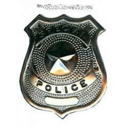 Placa Policia Special Police