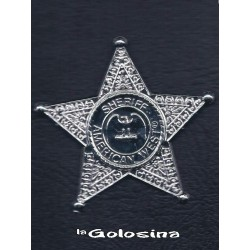 Estrella Sheriff plastico grande