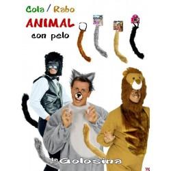Cola Rabo animal con pelo