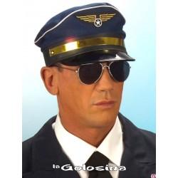 Gafas Negras Detective,aviador,militar,rock