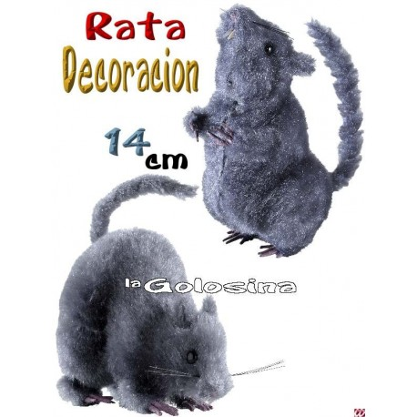 Rata decoracion 14 cm
