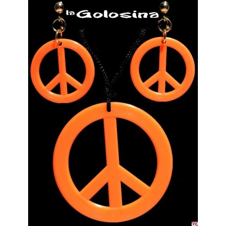 Set Hippie Collar mas pendientes