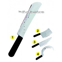 Cuchillo Arma con Sangre