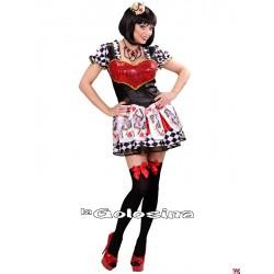 Disfraz Ad. Reina de Corazones.