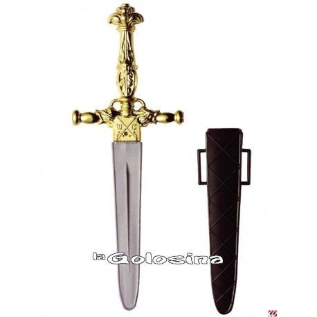 Punal dorado principe medieval