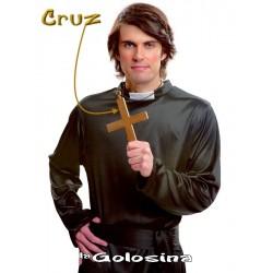 Maxi Cruz Dorada con cordon