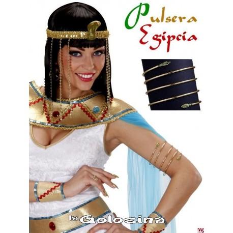 Pulsera alambre Egipcia dorada