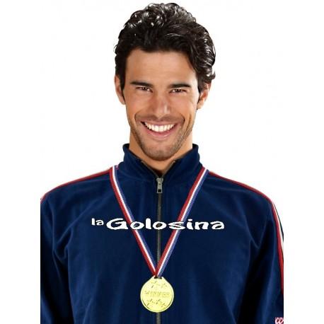 Cinta con medalla Oro