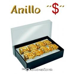 Anillo dorado Dolar