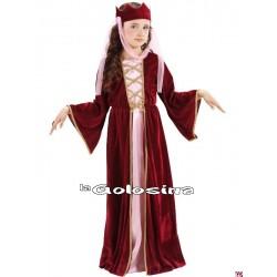 Disfraz Inf. Niña: Medieval chica.