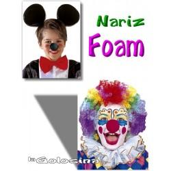 Nariz Foam payaso raton
