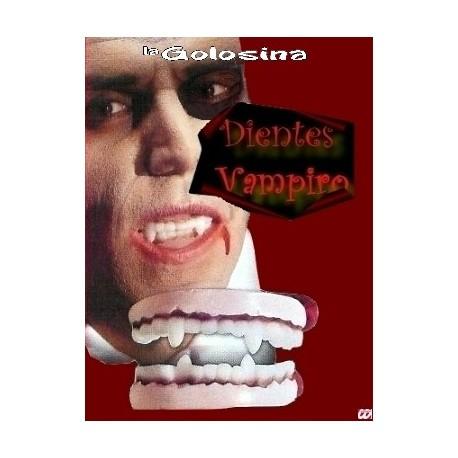 Dentadura dientes vampiro
