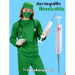 Jeringuilla hinchable