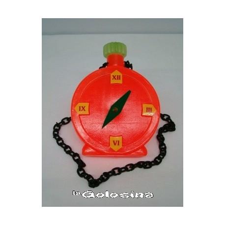 Maxi reloj vivos colores de plastico