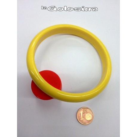 Pulsera plastico 1 cm grosor