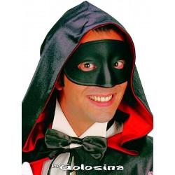 Antifaz negro tapa nariz