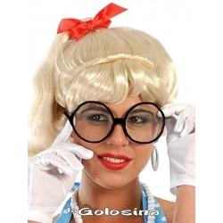 Gafas negras de secretaria