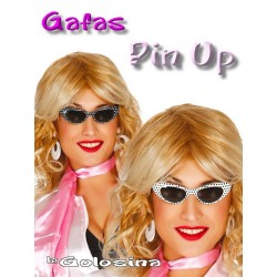 Gafas Pin Up cristal oscuro