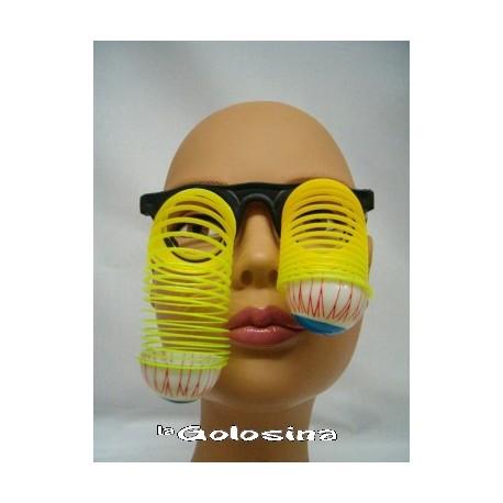 Gafas Con muelles ojos saltones
