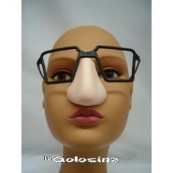 Gafas Cuadradas plastico con nariz