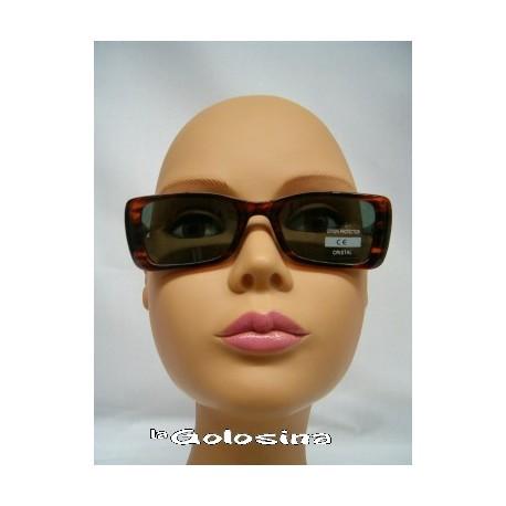 Gafas Concha rectangular cristal claro