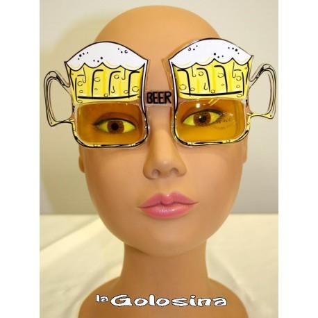 Gafas Forma cerveza