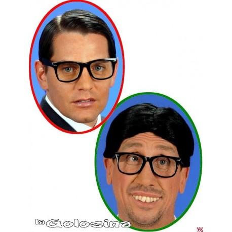 Gafas Negras cristal transparente