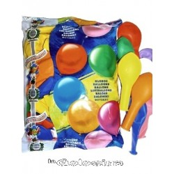 Globos Decohelium 100 U 1 color 25 cm