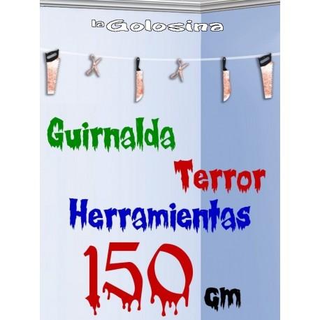 Guirnalda TERROR 2 modelos 150 cm