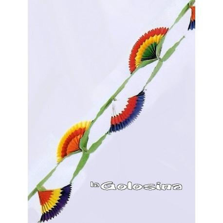 Guirnalda Modelo flor 4 metros