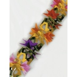 Guirnalda con flores 3 metros