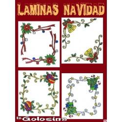 Lamina Navidad n1 Decoracion ventanas, espejos