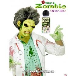Maquillaje Gel sangre verde Zombie 28 ml