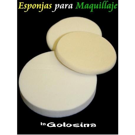 Esponja para maquillaje pack 4 U rectangulares