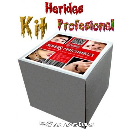 Kit Heridas Profesional Grimas