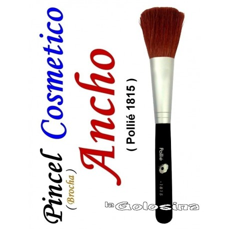 Pincel brocha cosmetico Ancho Pollie 1815