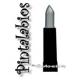 Maquillaje: Pintalabios plateado