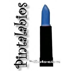 Maquillaje: Pintalabios azul