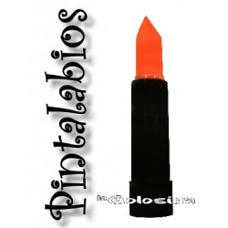 Maquillaje: Pintalabios naranja fosforescente