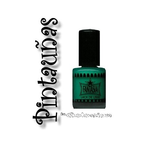 Maquillaje: Pintaunas verde
