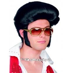 Peluca de Rey del Rock Elvis