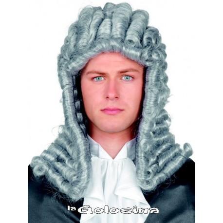 Peluca de Juez gris Lord