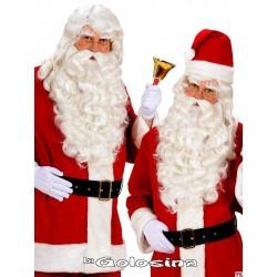 Peluca y barba Papa Noel / Rey Melchor.
