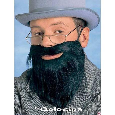 Barba dacha con bigote
