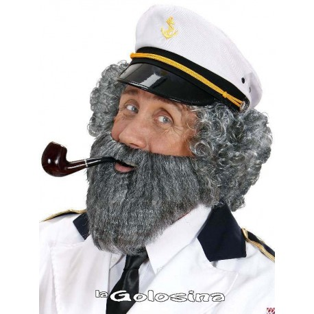 Barba postiza lisa