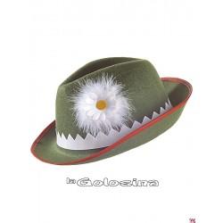 Somb. Tiroles decorado - verde